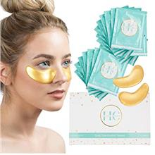 [USA Shipping](16 Pairs) 24K Gold Under Eye Mask: Hydrating Collagen Undereye