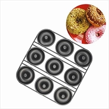 [USA Shipping]Chokxus Donut Pan 9-cavity Nonstick Donut Baking Pans for Homema