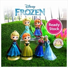Frozen 2 Princess Anna Elsa Figures Toy Cake Topper (Assorted Type)