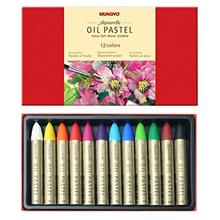 [Free shipping]Mungyo Water-Soluble Oil Pastel Set of 12 - Assorted Colors