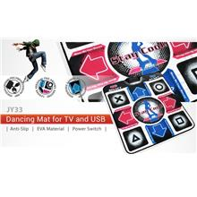 USB EXECISE DANCE PAD DANCING MAT FOR PC (JY33) STEPMANIA FULL SONG