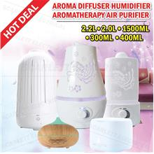 Air Humidifier Diffuser Purifier Home Aromatheraphy Multicolour LED