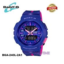 100% ORIGINAL CASIO BABY-G BGA-240-2A1 LADY SPORT WATCH BGA-240