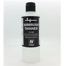 [Free shipping]Vallejo Airbrush Thinner 200ml Paint