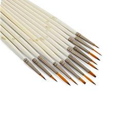 [Free shipping]STARVAST 12 Pieces Detail Paint Brush Set Miniature Artist Pain