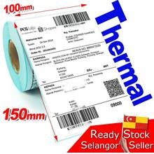 10x15cm Thermal Label Paper Print Shipping Shopee Consignment 350pc