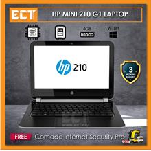 (Refurbished) HP Mini 210 G1 Laptop (i5-4200U 2.60GHz, 128GB SSD, 4GB, HD4400,
