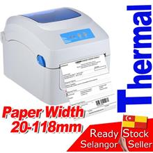GP1324D Thermal Printer Barcode Label Address GPrinter Shopee Poslaju