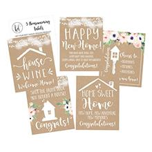 [USA Shipping]5 Rustic House Warming Presents New Homeowner Stickers or Wine L