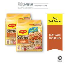 MAGGI OAT MEE MI GORENG CURRY 4X76G (Multipacks), Bundle of 2