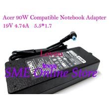 *Acer Compatible Laptop ^Notebook Power AC DC Adapter 90W 19V 4.74A