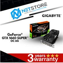 GIGABYTE GeForce® GTX 1660 SUPER™ OC 6G GV-N166SOC-6GD