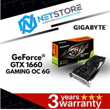 GIGABYTE GeForce® GTX 1660 GAMING OC 6G GV-N1660GAMING OC-6GD