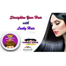 Straighten Your Hair with Lucky Hair