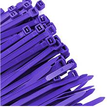 [From USA]Pro Tie PR11SD100 11.8-Inch Purple Standard Duty Color Cable Tie Pur