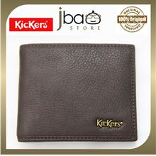 Kickers KDMH-T-50848 RFID SECURE Protection Men Genuine Leather Card Wallet Ch