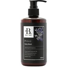 Bare For Bare Rosemary Body Wash with Pure Essential Oil 300ml)
