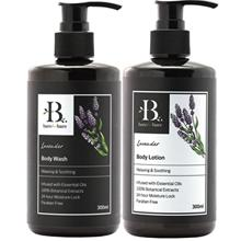 Bare For Bare Lavender Body Wash and Body Lotion Set with Pure Essential Oil 3)