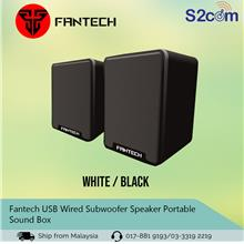 Fantech USB Wired Subwoofer Speaker Portable Sound Box (GS733/SP87)