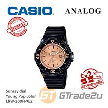 CASIO Women Kids LRW-200H-9E2 Analog Watch Young Pop Color [READY STOC