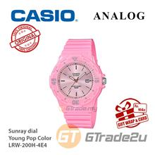 CASIO Women Kids LRW-200H-4E4 Analog Watch Young Pop Color [READY STOC
