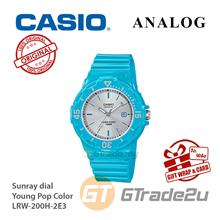 CASIO Women Kids LRW-200H-2E3 Analog Watch Young Pop Color [READY STOC