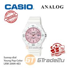CASIO Women Kids LRW-200H-4E3 Analog Watch Young Pop Color [READY STOC
