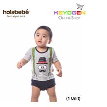( flash sale ) Holabebe Baby Romper Mom's Gentleman R581