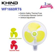 Khind Winter Snow Series 16' Wall Fan WF1660RT6 (Random Color)