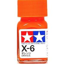 Tamiya Enamel Paint X-6 Orange(10ml)