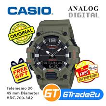 Casio Men HDC-700-3A2 Analog Digital Watch [READY STOCK]