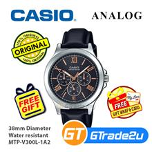 Casio Men MTP-V300L-1A2 Analog Watch [READY STOCK] Jam Tangan Lelaki W