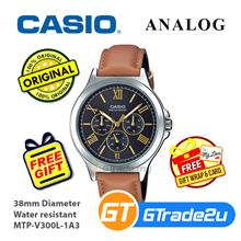 Casio Men MTP-V300L-1A3 Analog Watch [READY STOCK] Jam Tangan Lelaki W