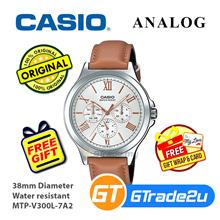 Casio Men MTP-V300L-7A2 Analog Watch [READY STOCK] Jam Tangan Lelaki W
