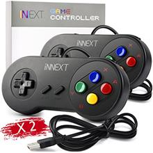 [From USA]2 Pack iNNEXT SNES Retro USB Controller Gamepad Joystick USB PC Supe