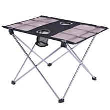 PORTABLE OUTDOOR ULTRALIGHT FOLDABLE TABLE WITH OXFORD FABRIC FOR CAMPING FISH