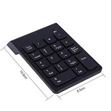 [From USA]Bewinner Bluetooth Numeric Keyboard with 18 Keys Wireless Numeric Ke
