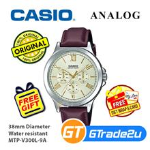 Casio Men MTP-V300L-9A Analog Watch [READY STOCK] Jam Tangan Lelaki Wa