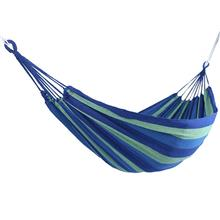 Outdoor Portable Garden Canvas Hammock (blue)