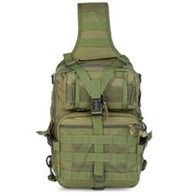 OUTDOOR TACTICAL SHOULDER BACKPACK FOR CAMPING TREKKING (ARMY GREEN)