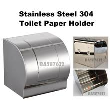 304 Stainless Steel Wall Mount Toilet Tissue Paper Holder Box 2199.1
