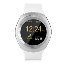 AA7 Fashion Multifunctional Color Touch Screen SIM Call Smart Watch (WHITE)