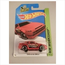 Hot Wheels Diecast - Toyota AE86 Corolla (Red) NEW