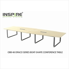 OBB 48 ORACO SERIES BOAT-SHAPE CONFERENCE TABLE (INCLUDED YBV 20 2 UNI