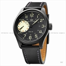 GLYCINE Watch 3905.99AT-LB90 KMU 48 Small-Second Leather LE *Clearance