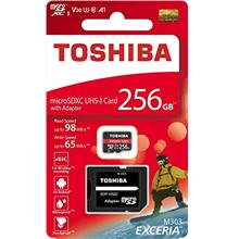 [From USA]TOSHIBA Micro SD Card Memory Card Read 256GB 256G EXCERIA M303 with