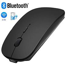 [From USA]Bluetooth Wireless MouseWISAGI 2.4GHz Rechargeable Dual Mode Slim Wi