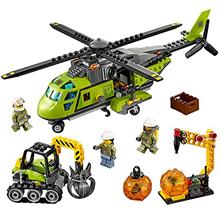[From USA]LEGO City Volcano Explorers 60123 Volcano Supply Helicopter Building