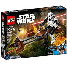 [From USA]LEGO Star Wars Scout Trooper  & Speeder Bike 75532 Building Kit