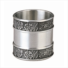 MSP35263 - Pewter Mini Cup, Orchid Motif